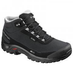 Ботинки Salomon SHELTER CS WP Black/Bk/Frost Gray FW18-19