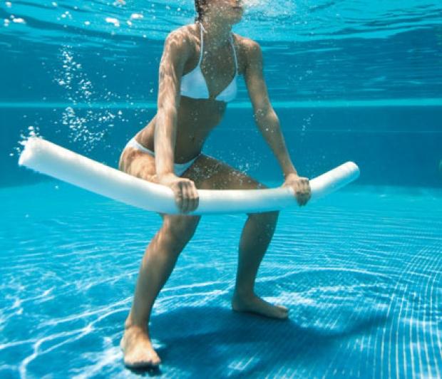 Похудание в синхронном плавании