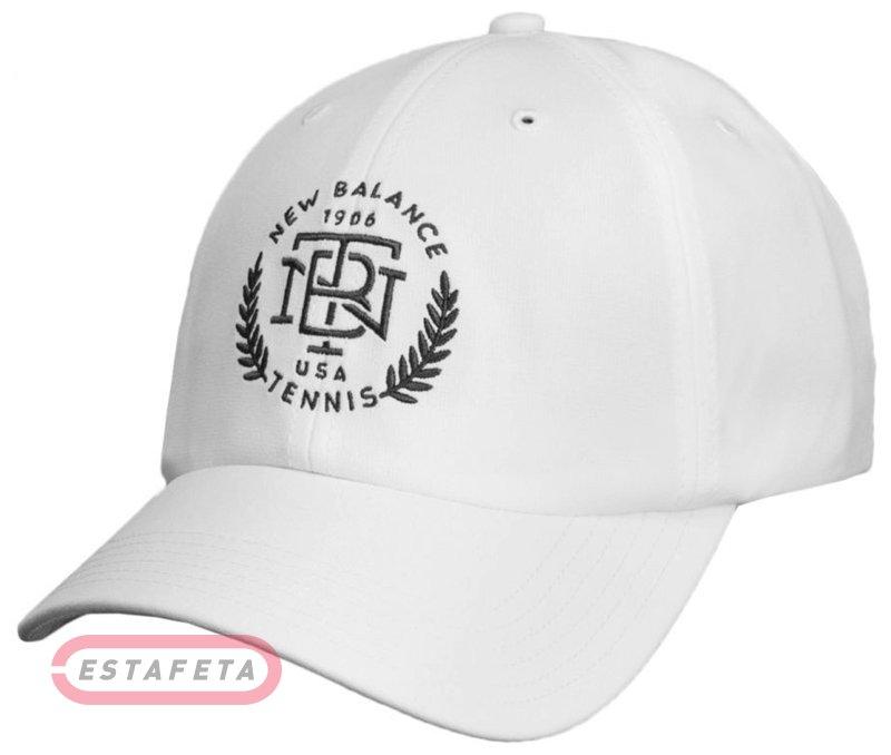 Кепка New Balance 6 Panel Stretch Tennis Hat 500095-100 купить ... e4e9e6aec3612