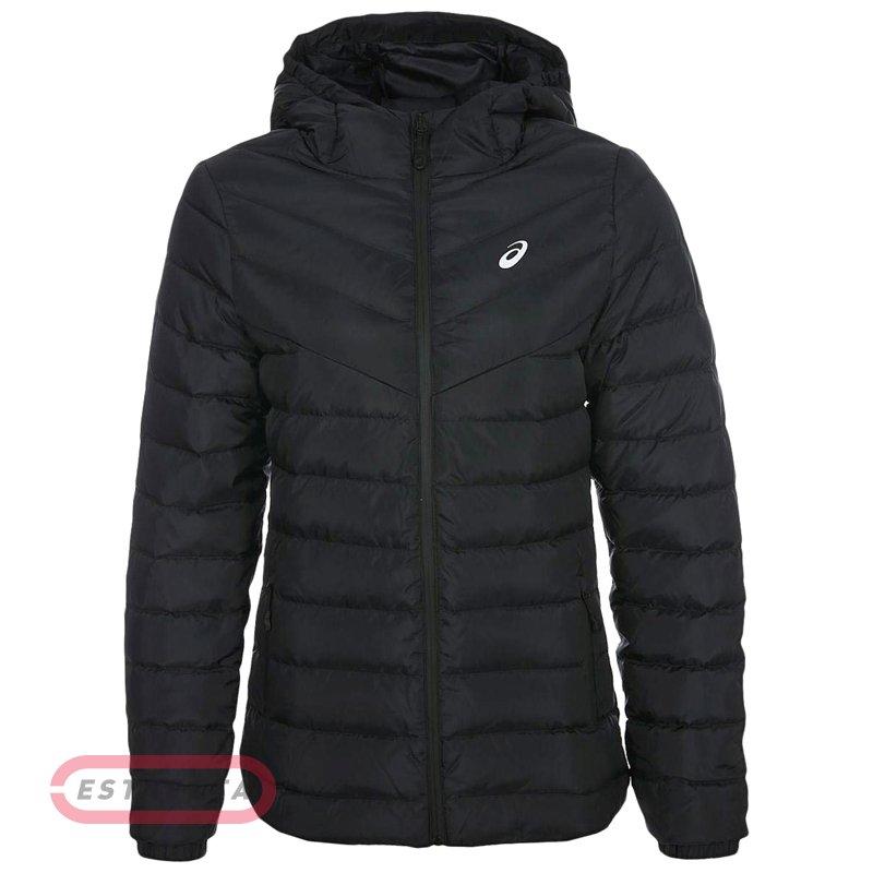 e046821014ea Куртка Asics DOWN HOODED JACKET BLK W FW18-19 2032A336-001 купить ...
