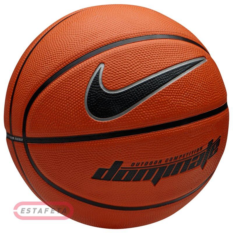 a3b6ac39 Мяч баскетбольный Nike DOMINATE 8P AMBER/BLACK/MTLC PLATINUM/BLACK ...