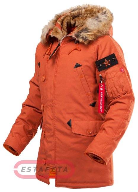29dcd64bc490 Куртка Airboss Snorkel Parka 171000133223-Orange купить   Estafeta.ua