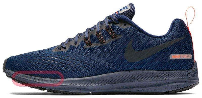 4bc43660 Кроссовки для бега Nike ZOOM WINFLO 4 SHIELD 921704-400 купить ...