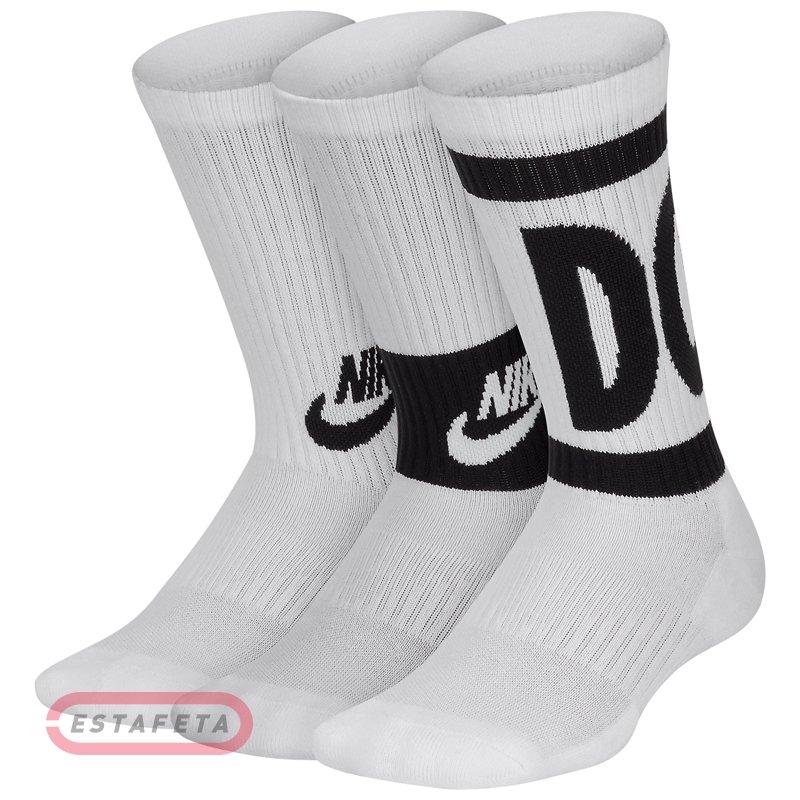 Носки Nike Y NK EVRY CUSH CREW 3PR - HBR SX6839-100 купить  dfe7b8920f5