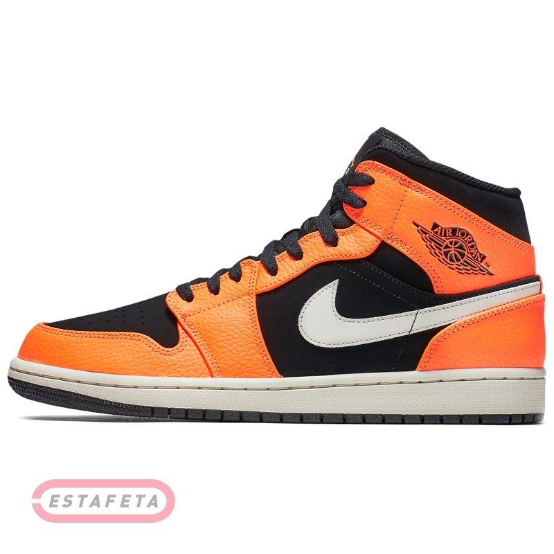 d9811bfff783 Кроссовки для баскетбола Nike AIR JORDAN 1 MID 554724-062 купить ...