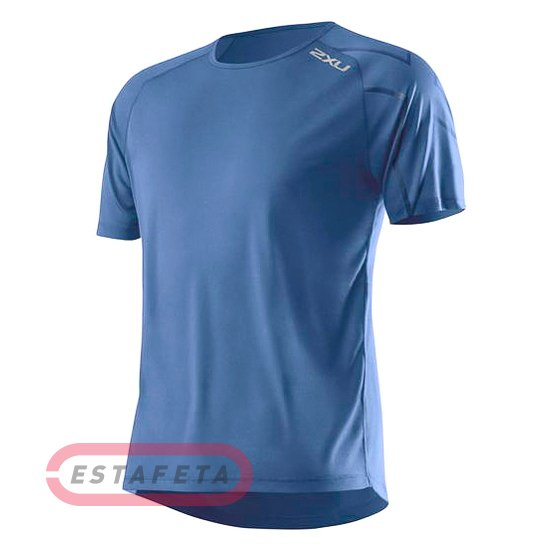 83efde7835f3 Футболка для бега 2XU GHST MR3134a-Pacific Blue-Pacific Blue купить ...