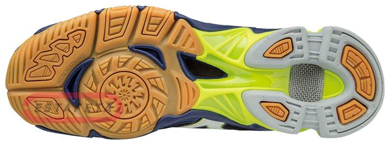 Кроссовки для волейбола Mizuno Wave Bolt 6 MID V1GA1765-71 купить ... c2bf0d18ad7