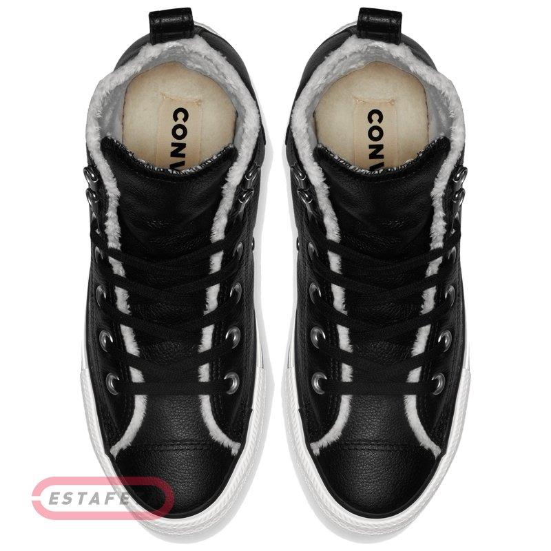 fd28a6c9 Кеды Converse CTAS HIKER BOOT HI BLACK/EGRET/GUM 161512C купить ...