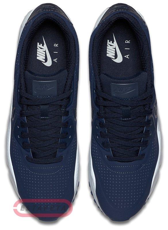 Nike Air Max 90 Ultra Moire 819477 404 | White, Dark Blue