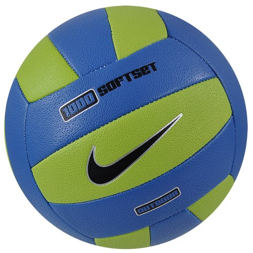 ��� ������������� NIKE 1000 SOFT SET OUTDOOR VOLLEYBALL DEFLATED BRIGHT CACTUS/PHOTO BLUE