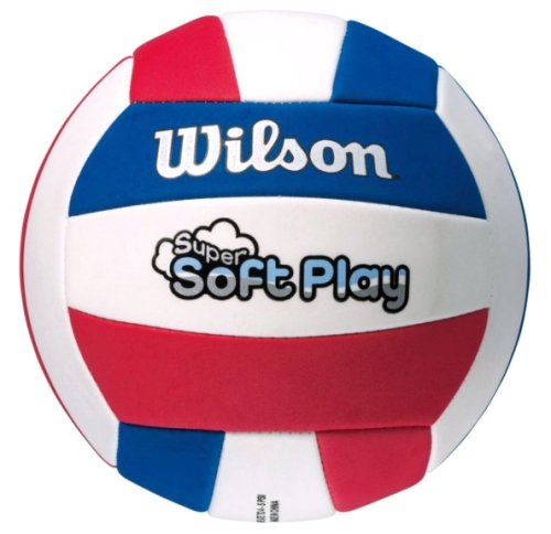 Мяч волейбольный Wilson SUPER SOFT PLAY VB RDWHBL BULK SS14