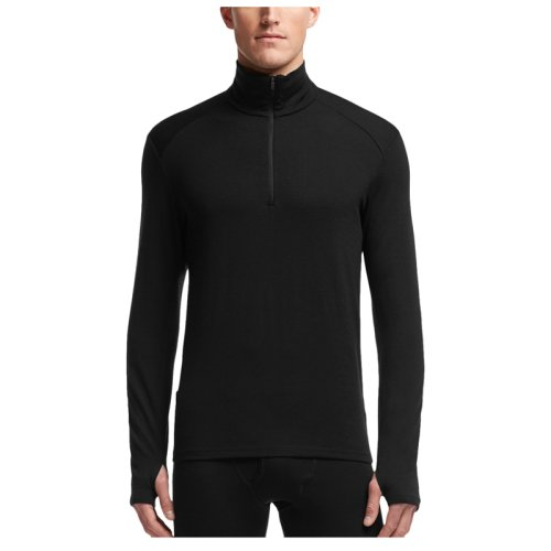 Термобелье (верх) Icebreaker BF 260 Tech LS Half Zip MEN black