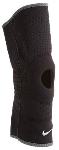 Наколенник Nike OPEN PATELLA KNEE SLEEVE M BLACK/DARK CHARCOAL
