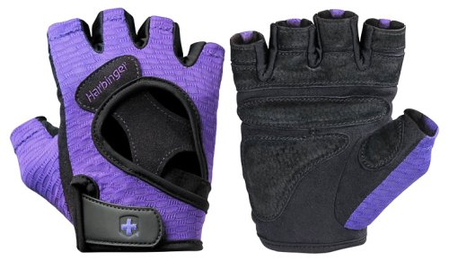 Перчатки женские HARBINGER FlexFit W&D- black\purple L