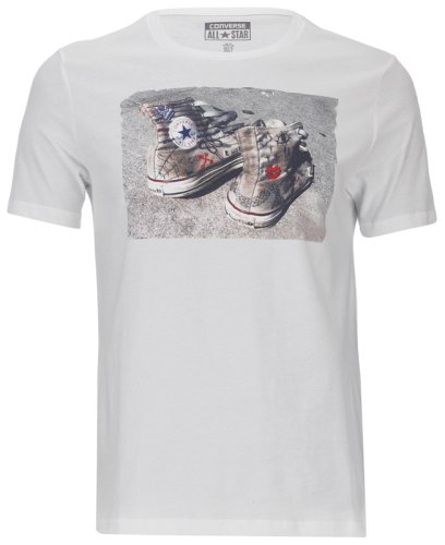 �������� CONVERSE MENS KNITTED T-SHIRT