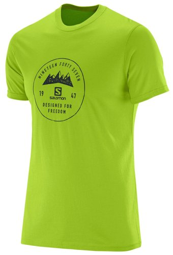 Футболка Salomon MOUNT SIGN SS COTTON TEE M