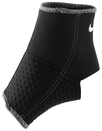 Голеностоп Nike ANKLE SLEEVE L BLACK/DARK CHARCOAL