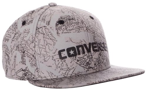 Кепка CONVERSE Collaged Map Snapback Twill
