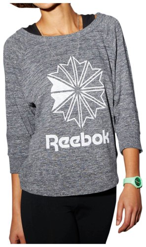 Толстовка Reebok F ICONIC BACK ZIP CREW