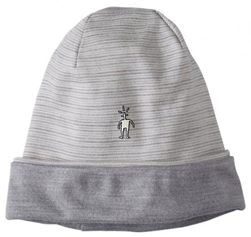 ����� SMARTWOOL NTS Mid 250 Reversible Pattern Cuffed Beanie natural/light gray