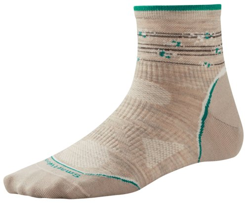 Носки SMARTWOOL Women's PhD Outdoor Ultra Light Pattern Mini oatmeal/canton