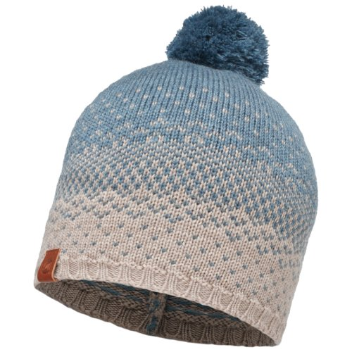 ����� BUFF Knitted Hat Mawi Stone Blue