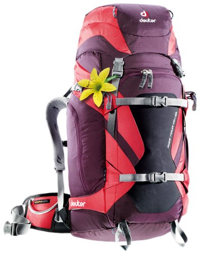 Рюкзак Deuter Rise Tour aubergine-fire