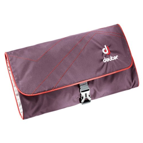 Несессер Deuter Wash Bag aubergine-fire