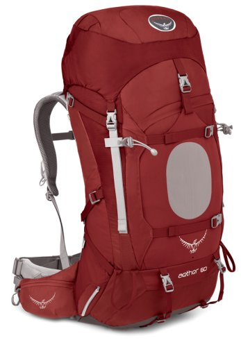 Рюкзак  Osprey Aether 60 Arroyo Red