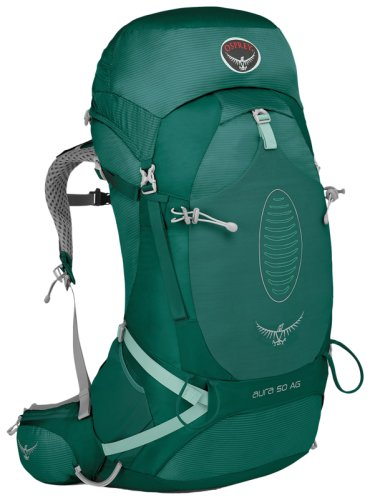 Рюкзак Osprey Aura AG 50 Rainforest Green