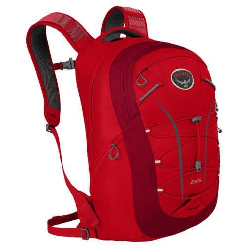 ������   Osprey Axis 18 Cardinal Red