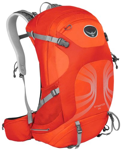 Рюкзак  Osprey Stratos 34 Solar Flare Orange
