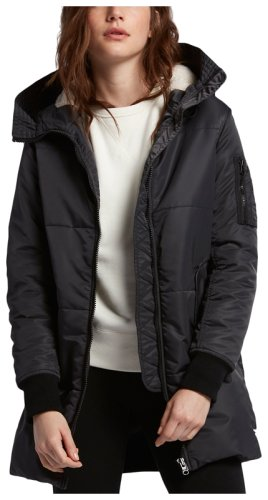 Пуховик Converse NYLON LONG PUFFER STORM WIND