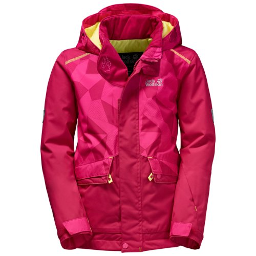 Куртка г/л Jack Wolfskin SNOW RIDE JACKET KIDS