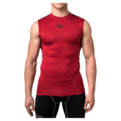 Компрессионная майка Peresvit Air Motion Compression Tank Red Black