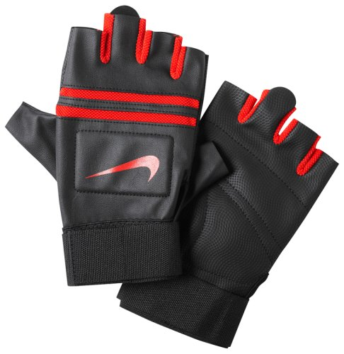Перчатки для тренинга NIKE MENS K.O. TRAINING GLOVES S BLACKUNIVERSITY RED