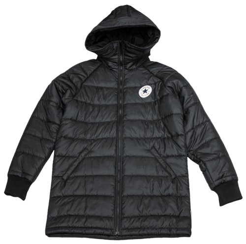 Пуховик Converse CORE LONG HOODED PUFFER