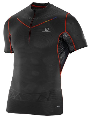 Футболка  Salomon S-LAB EXO HZ TEE M BLACK FW16-17