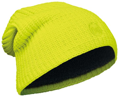 Шапка BUFF Knitted & Polar Hat Drip Yellow Fluor