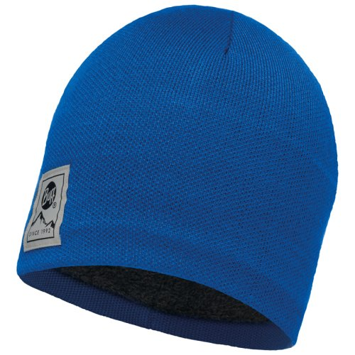 Шапка BUFF Knitted & Polar Hat Solid Blue Skydiver