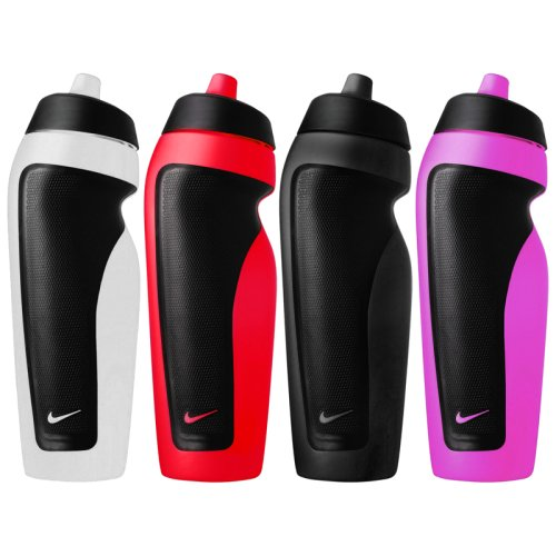 Бутылка Nike SPORT WATER BOTTLE DISPLAY   12 PACK CLEAR/SPORT RED/ANTHRACITE/VIVID PINK