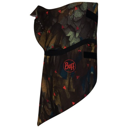 Бандана BUFF® WINDPROOF BANDANA rock camo brown