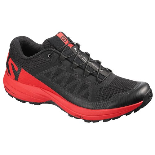 Кроссовки для бега Salomon XA ELEVATE Black/High Risk Red/Bk SS19