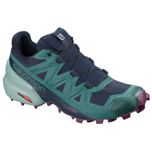 Кроссовки для бега Salomon SPEEDCROSS 5 W Navy Blaze/Mediterr SS19