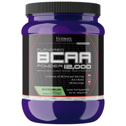 Аминокислота Ultimate Nutrition BCAA  powder 228 гр - watermelon
