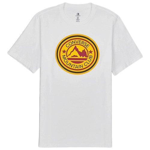 Футболка Converse MOUNTAIN CLUB PATCH T WHITE