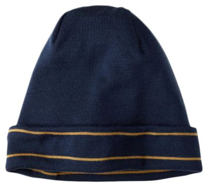 Шапка SMARTWOOL NTS Mid 250 Reversible Pattern Cuffed Beanie deep navy/sunglow htr