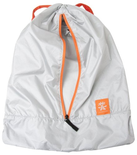Рюкзак CRUMPLER Ultralight Drawstring Backpack silver/orange