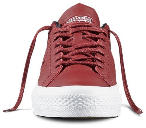 Кеды Converse ONE STAR LEATHER OX RED BLOCK/BLACK