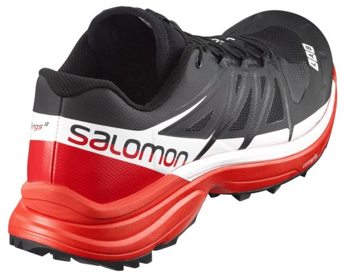 Кроссовки Salomon S-LAB WING8 SG BLACK/RD/WH FW16-17